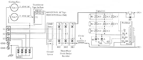 VFD power supply drawings