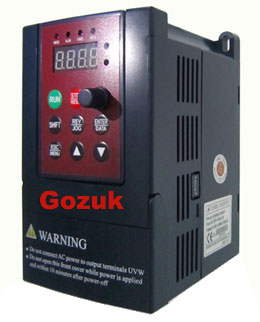 5HP VFD single phase input drive