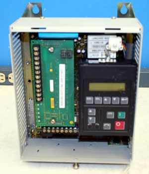 Opened Variable Frequency Drive for troubleshooting