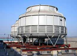 Variable frequency drive on Cooling Tower