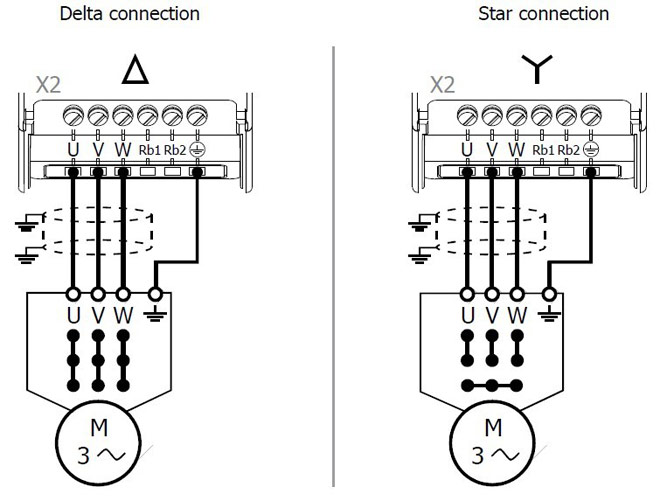 [DIAGRAM_4PO]  Connecting variable frequency drive to motor | Delta Inverter Wiring Diagram |  | Variable Frequency Drives