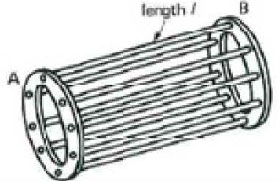 Squirrel cage rotor