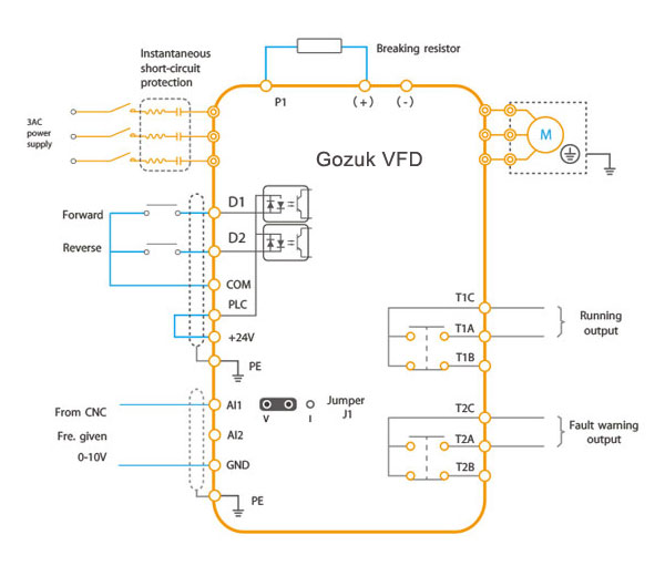 Vfd Control Wiring Diagram - Wiring Diagram Data
